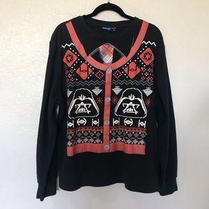 Star Wars Darth Vader Print Black sweatshirt XL